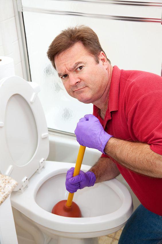 don't flush wipes down the toilet